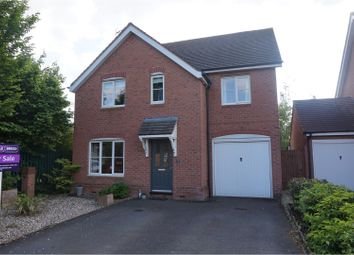 Thumbnail 4 bed detached house for sale in Bramley Way, Alcester