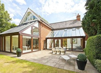 Thumbnail 5 bed detached house for sale in Queens Road, Weybridge, Surrey