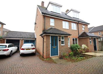 Thumbnail 3 bed semi-detached house to rent in Malkin Drive, Church Langley, Harlow
