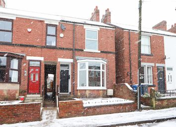 Thumbnail 3 bed semi-detached house to rent in York Street, Hasland, Chesterfield