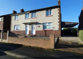 Thumbnail 3 bed semi-detached house for sale in Lund Crescent, Carlisle