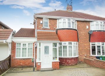 Thumbnail 2 bedroom semi-detached house for sale in Marina Avenue, Sunderland