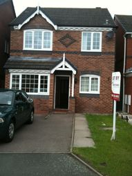 Thumbnail 4 bed detached house to rent in Thistle Croft, Wednesfield, Wolverhampton