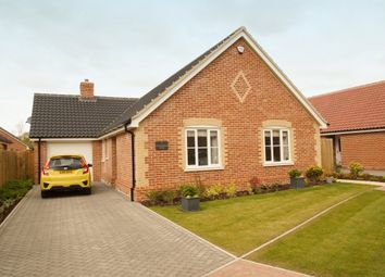 Thumbnail 3 bedroom detached bungalow for sale in Cornflower Close, Leiston