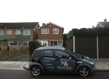 Thumbnail 3 bedroom detached house to rent in Kew Gardens, Yardley, Birmingham
