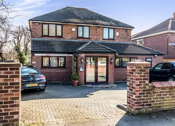 Thumbnail 5 bed detached house for sale in Wilbraham Road, Chorlton, Manchester