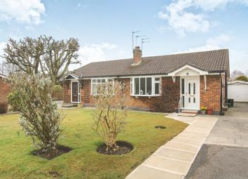 Thumbnail 2 bed bungalow for sale in Sandown Close, Wilmslow, Cheshire, .