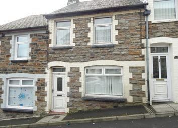 Thumbnail 2 bed terraced house to rent in Gaen Street, Abertillery