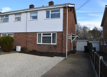 Thumbnail 3 bed semi-detached house for sale in Gilpin Road, Oulton Broad, Lowestoft, Suffolk