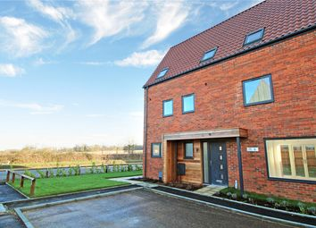 Thumbnail 4 bed semi-detached house for sale in Paddocks Way, Poringland, Norwich, Norfolk