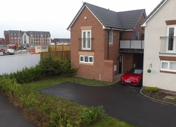 Thumbnail 1 bed link-detached house for sale in Detroit Close, Great Sankey, Warrington