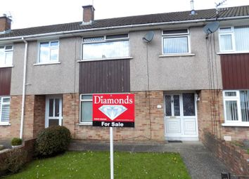 Thumbnail 3 bed terraced house for sale in Farm Road, Caerphilly