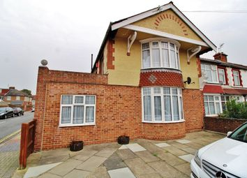 Thumbnail 4 bedroom end terrace house for sale in Chatsworth Avenue, Cosham, Portsmouth
