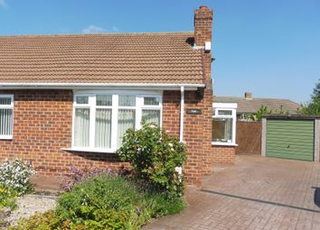 Thumbnail 2 bedroom semi-detached bungalow for sale in Aycliffe Road, Marton-In-Cleveland, Middlesbrough