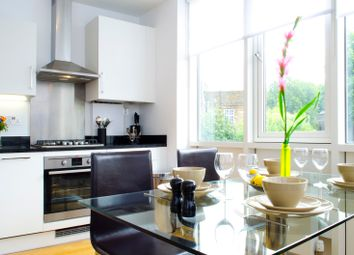 Thumbnail 1 bed flat to rent in New North Road, London