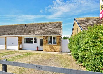 Thumbnail 3 bed semi-detached bungalow for sale in Leonard Road, Greatstone, Kent