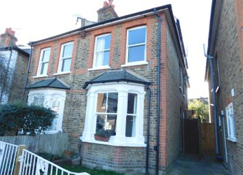 Thumbnail 3 bed semi-detached house for sale in Rowlls Road, Norbiton, Kingston Upon Thames