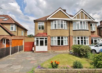 Thumbnail 3 bed semi-detached house for sale in Elmbridge Avenue, Berrylands, Surbiton