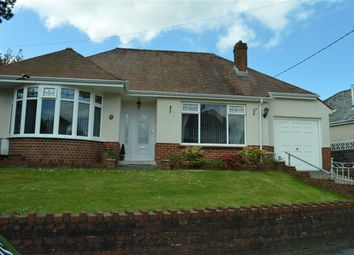 Thumbnail 3 bed detached bungalow for sale in Swansea Road, Swansea