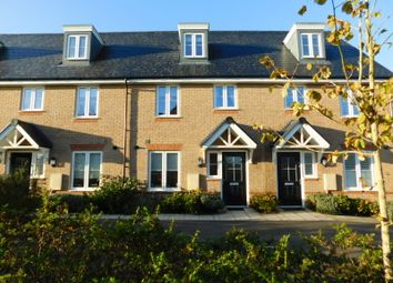 Thumbnail 3 bed town house for sale in Hawthorn Croft, Stotfold, Hitchin, Herts