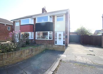 Thumbnail 3 bed semi-detached house for sale in Cornsay Close, Acklam, Middlesbrough