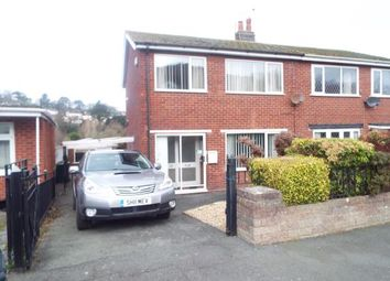 Thumbnail 3 bed semi-detached house for sale in Bryn Castell, Gyffin, Conwy, North Wales