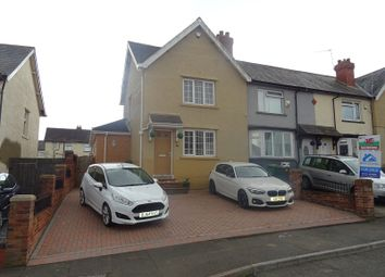 Thumbnail 2 bed end terrace house for sale in Meyrick Road, Ely, Cardiff.