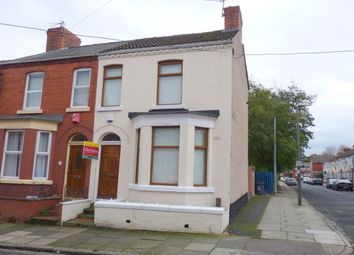 Thumbnail 2 bed end terrace house to rent in Mossley Road, Tranmere, Birkenhead