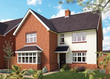 "Thumbnail 5 bed detached house for sale in ""The Arundel"" at Campton Road, Shefford"