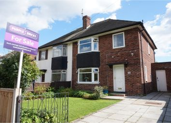 Thumbnail 3 bed semi-detached house for sale in Thoresby Road, Long Eaton