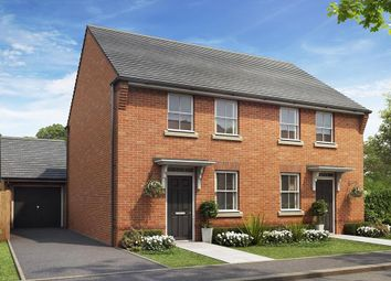 "Thumbnail 3 bed semi-detached house for sale in ""Arley"" at Holt Road, Horsford, Norwich"