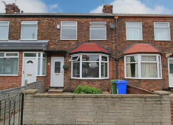 Thumbnail 2 bedroom terraced house for sale in Richmond Road, Hessle