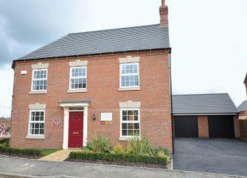 Thumbnail 4 bed detached house for sale in Henhurst Hill, Burton-On-Trent