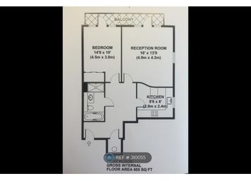 Thumbnail 1 bed flat to rent in Whitcome Mews, Kew, Surrey