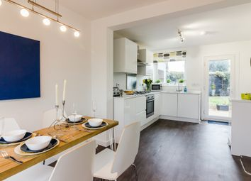 Thumbnail 3 bed semi-detached house for sale in Highclere Avenue, Swindon