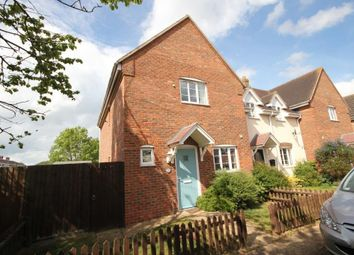 Thumbnail 2 bedroom end terrace house for sale in Blaydon Place, Sutton, Ely