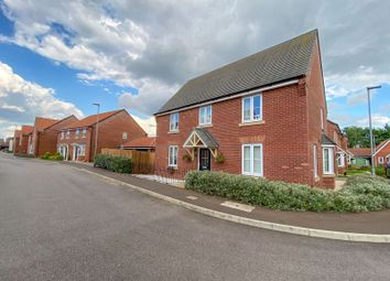 Thumbnail 4 bed detached house for sale in Larwood Way, Horsford, Norwich