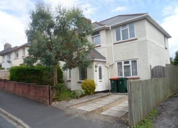Thumbnail 3 bed semi-detached house to rent in Lodge Avenue, Caerleon, Newport