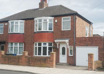 Thumbnail 3 bed semi-detached house for sale in Dimbula Gardens, High Heaton, Newcastle Upon Tyne