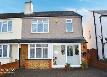 Thumbnail 3 bed semi-detached house for sale in Woodthorpe Road, Ashford, Surrey