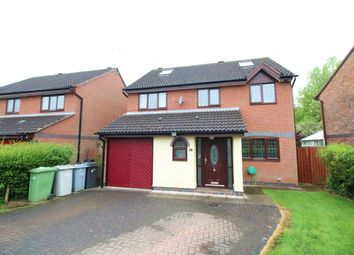 Thumbnail 5 bed detached house for sale in Jersey Close, Congleton