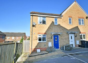 Thumbnail 2 bedroom semi-detached house for sale in Farnewell Close, Chippenham