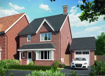 Thumbnail 4 bed detached house for sale in 'walnut' Detached, Tadpole Rise Phase 2, Swindon