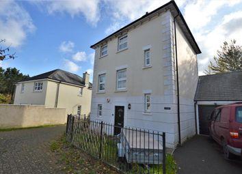 Thumbnail 3 bed detached house for sale in Saxon Close, Crediton, Devon