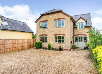 Thumbnail 5 bed detached house for sale in Newton, Cambridge, Cambridgeshire