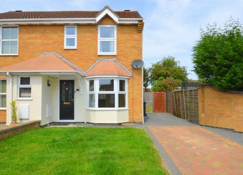 Thumbnail 2 bed end terrace house to rent in Ennerdale Close, Stukeley Meadows, Huntingdon, Cambridgeshire