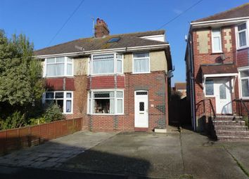 Thumbnail 4 bedroom semi-detached house for sale in Knightsdale Road, Weymouth, Dorset