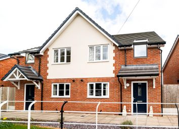 Thumbnail 3 bed semi-detached house for sale in Sandbach Road, Church Lawton, Stoke-On-Trent