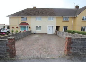 Thumbnail 3 bed terraced house for sale in Castle Road, Rhoose, Barry