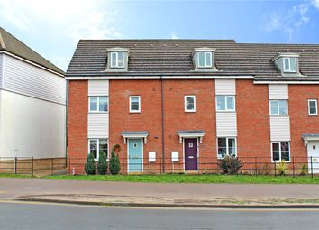 Thumbnail 4 bed end terrace house for sale in Sir Alfred Munnings Road, Costessey, Norwich, Norfolk